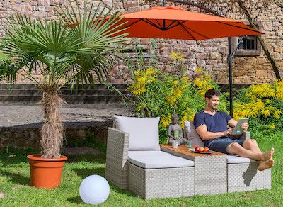 Lounge-Set Garten
