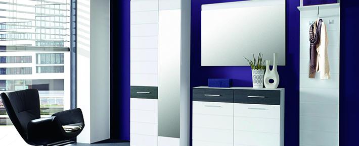 Garderobe polar garderobenprogramme flur diele for Garderobe zumba