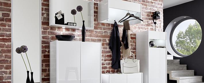 Garderobe imola garderobenprogramme flur diele for Garderobe zumba