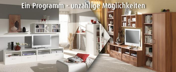 wohnprogramm soft wohnprogramme wohnzimmer wohnbereiche roller m belhaus. Black Bedroom Furniture Sets. Home Design Ideas