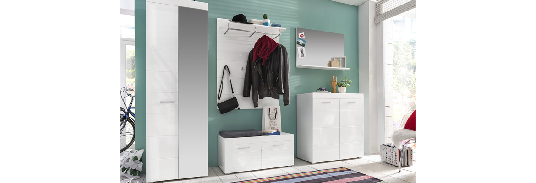 Garderobe amanda garderobenprogramme flur diele for Garderobe zumba