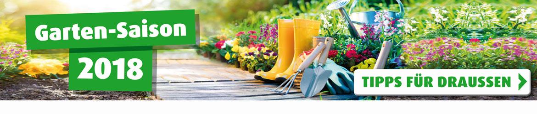 Garten-Saison bei ROLLER