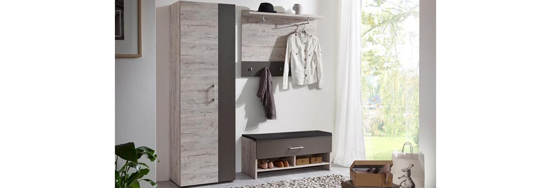 Garderobe alan garderobenprogramme flur diele for Garderobe zumba