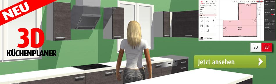 Küchenzeile roller  Planküchen nach Mass bei ROLLER kaufen | Möbelhaus ROLLER