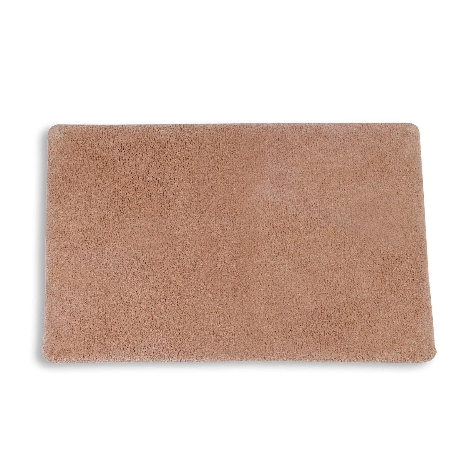 Badteppich - beige - Baumwolle - 50x80 cm