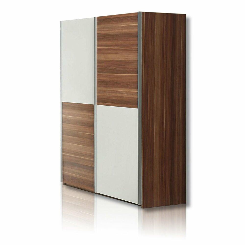 schwebet renschrank lupo walnuss wei 120 cm breit. Black Bedroom Furniture Sets. Home Design Ideas