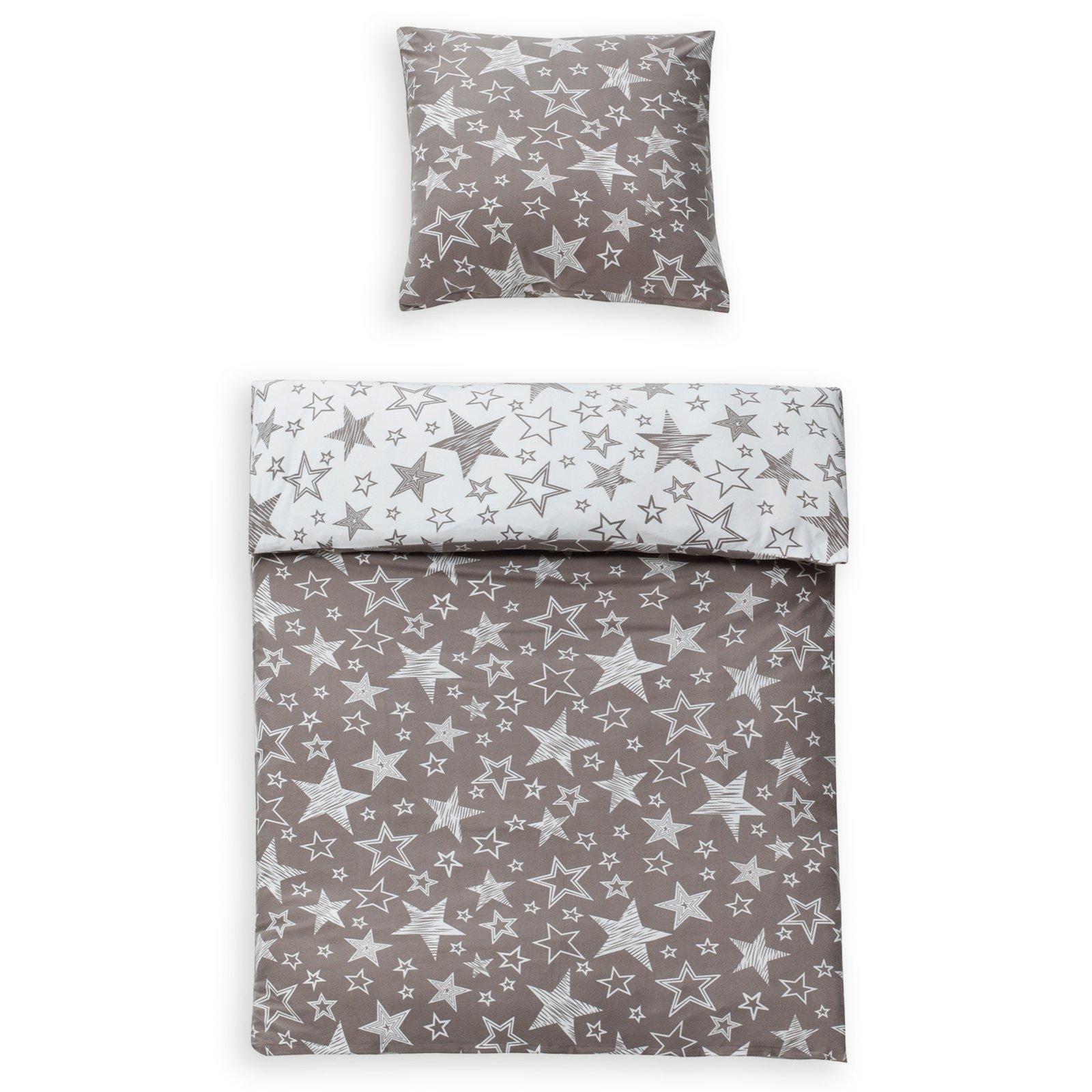 microfaser flausch bettw sche high class stella taupe 135x200 cm bettw sche bettw sche. Black Bedroom Furniture Sets. Home Design Ideas
