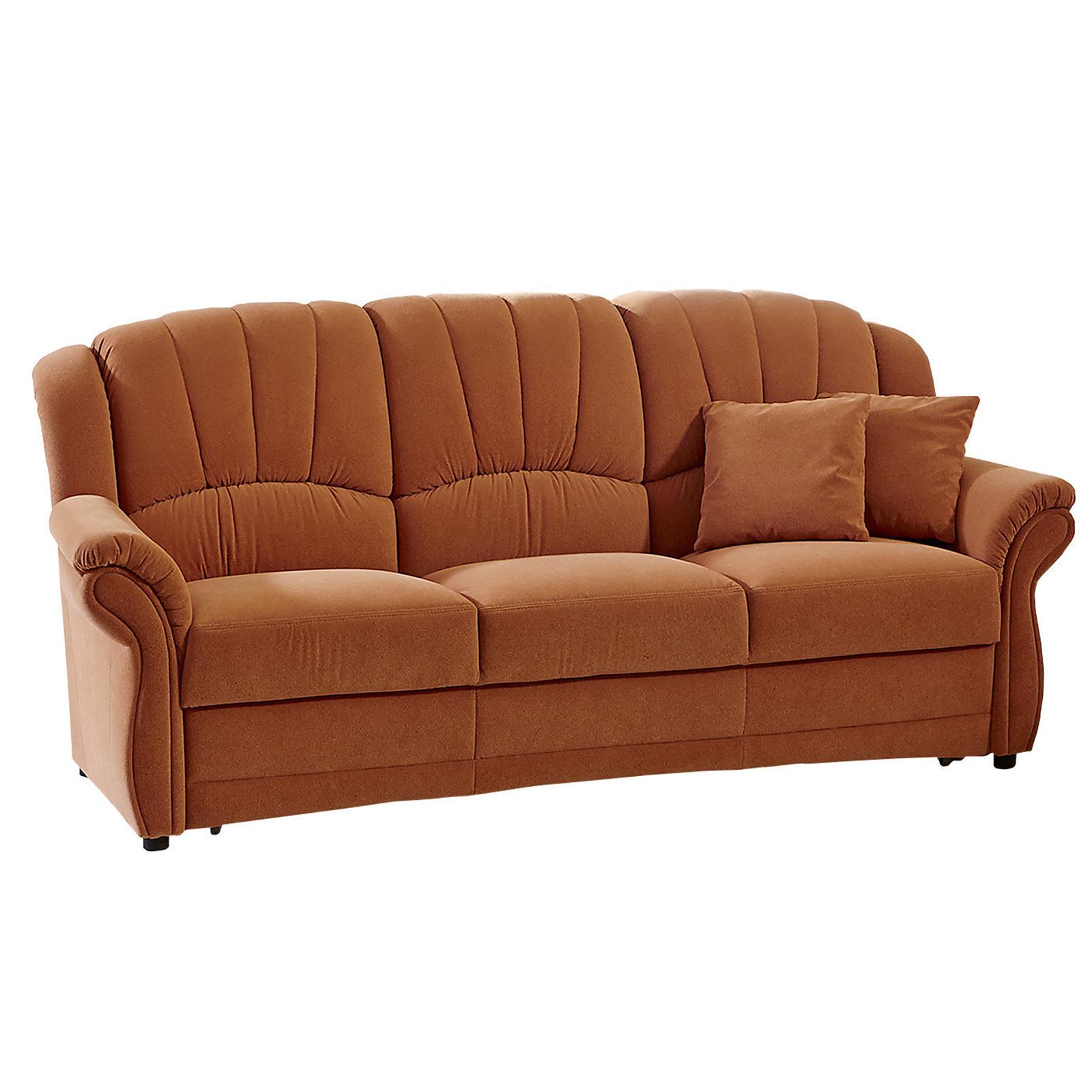 Polster Set 2 Sessel und 3 Sitzer Sofa terra