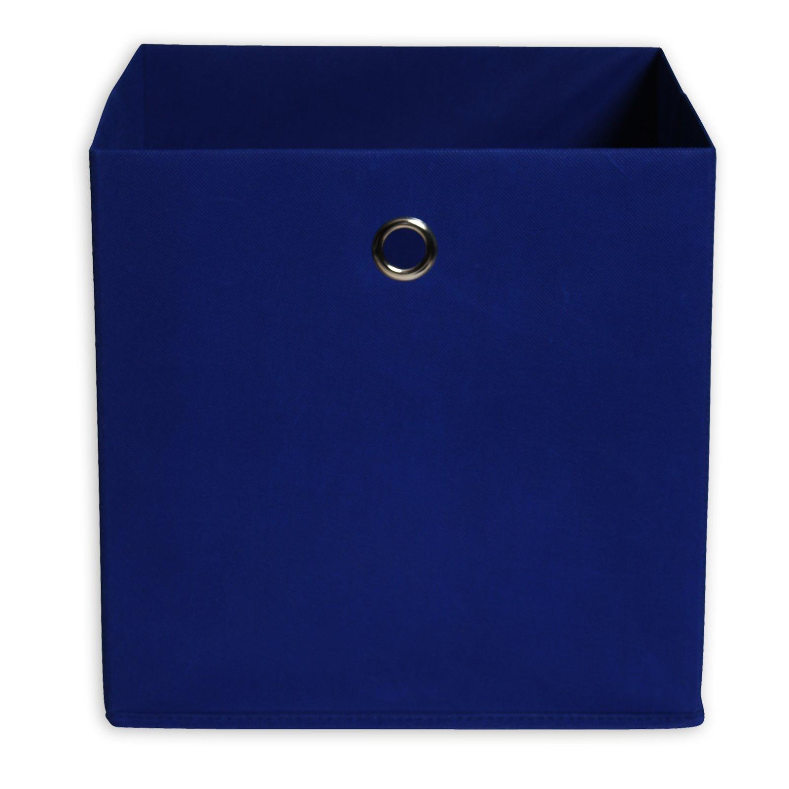 Faltbox - blau - mit Metallöse - 32x32 cm