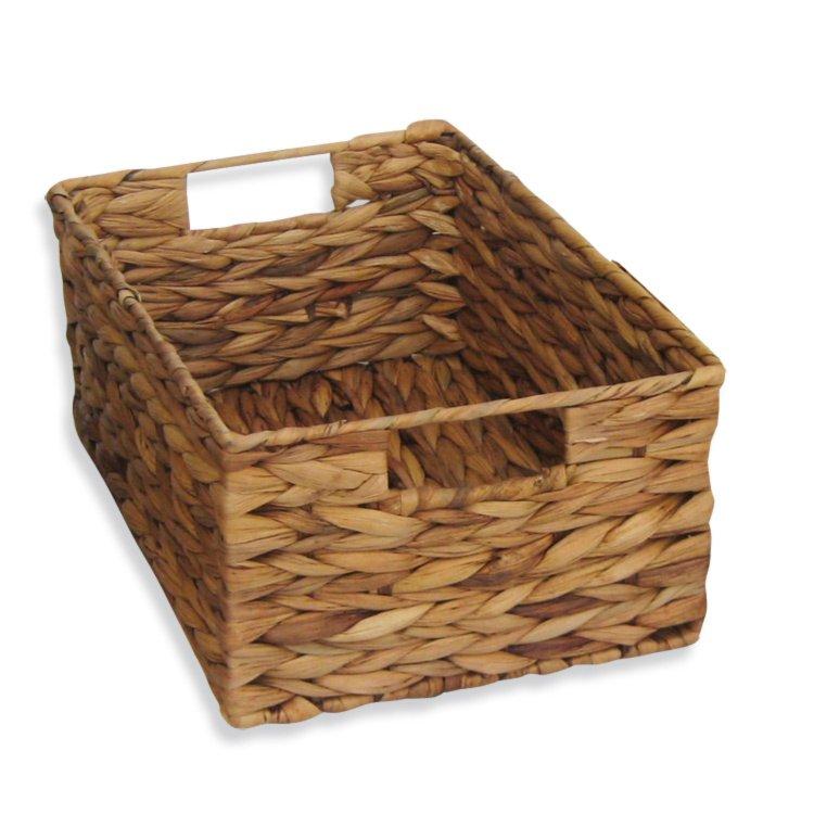 aufbewahrungskorb wasserhyazinthe 35x16 cm dekorative boxen k rbe boxen k rbe deko. Black Bedroom Furniture Sets. Home Design Ideas
