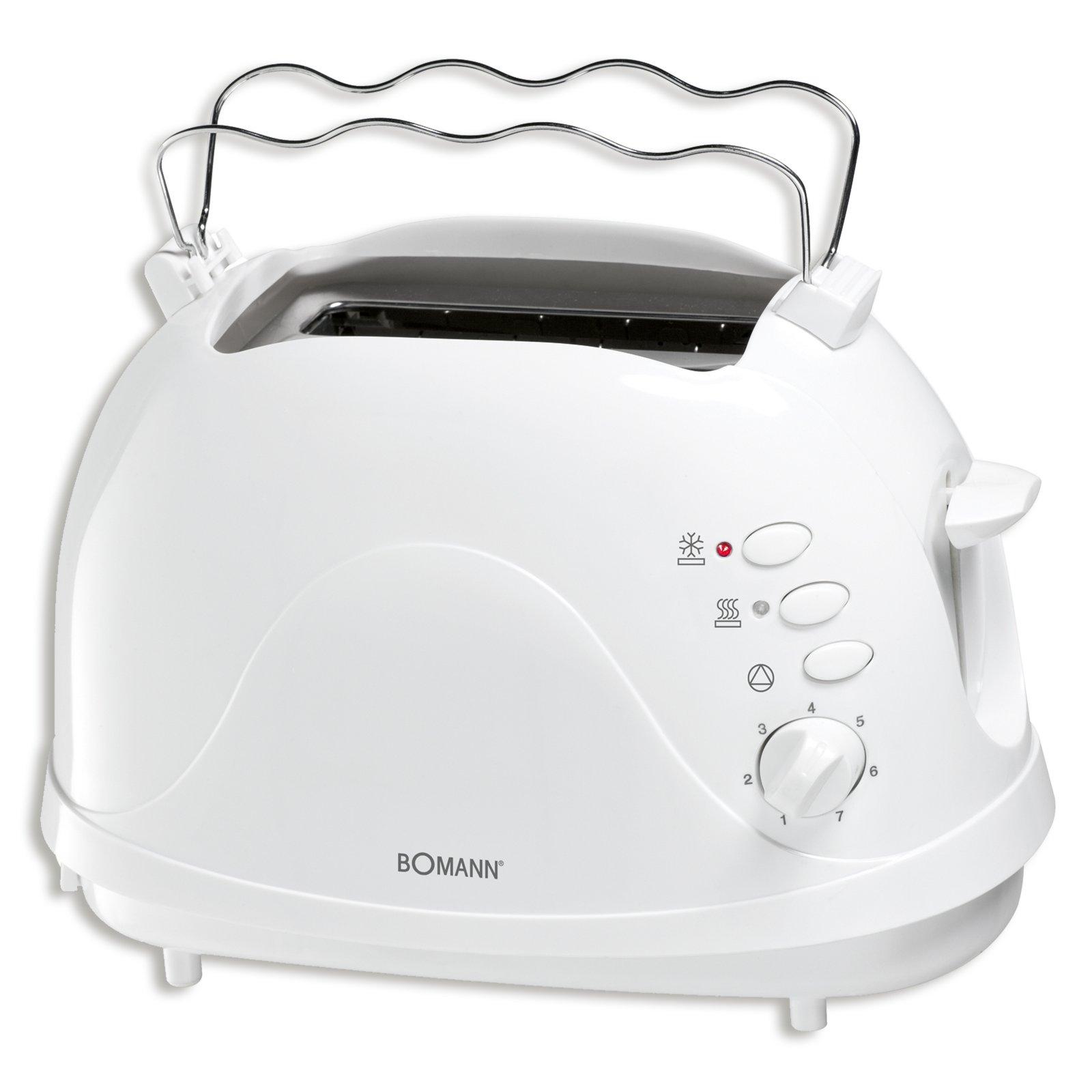 BOMANN Toaster TA 246 CB - weiß