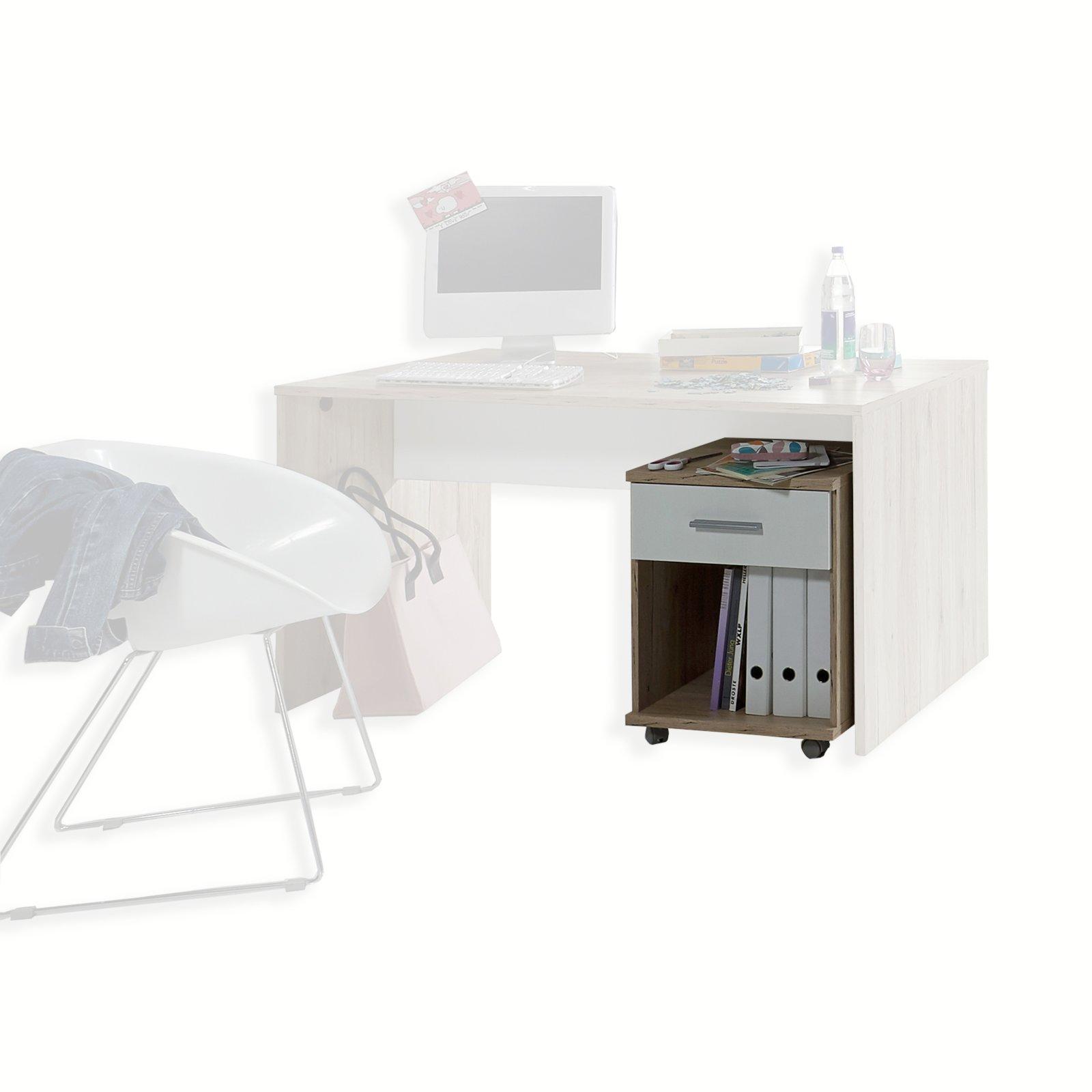 rollcontainer joker san remo eiche 46 cm. Black Bedroom Furniture Sets. Home Design Ideas