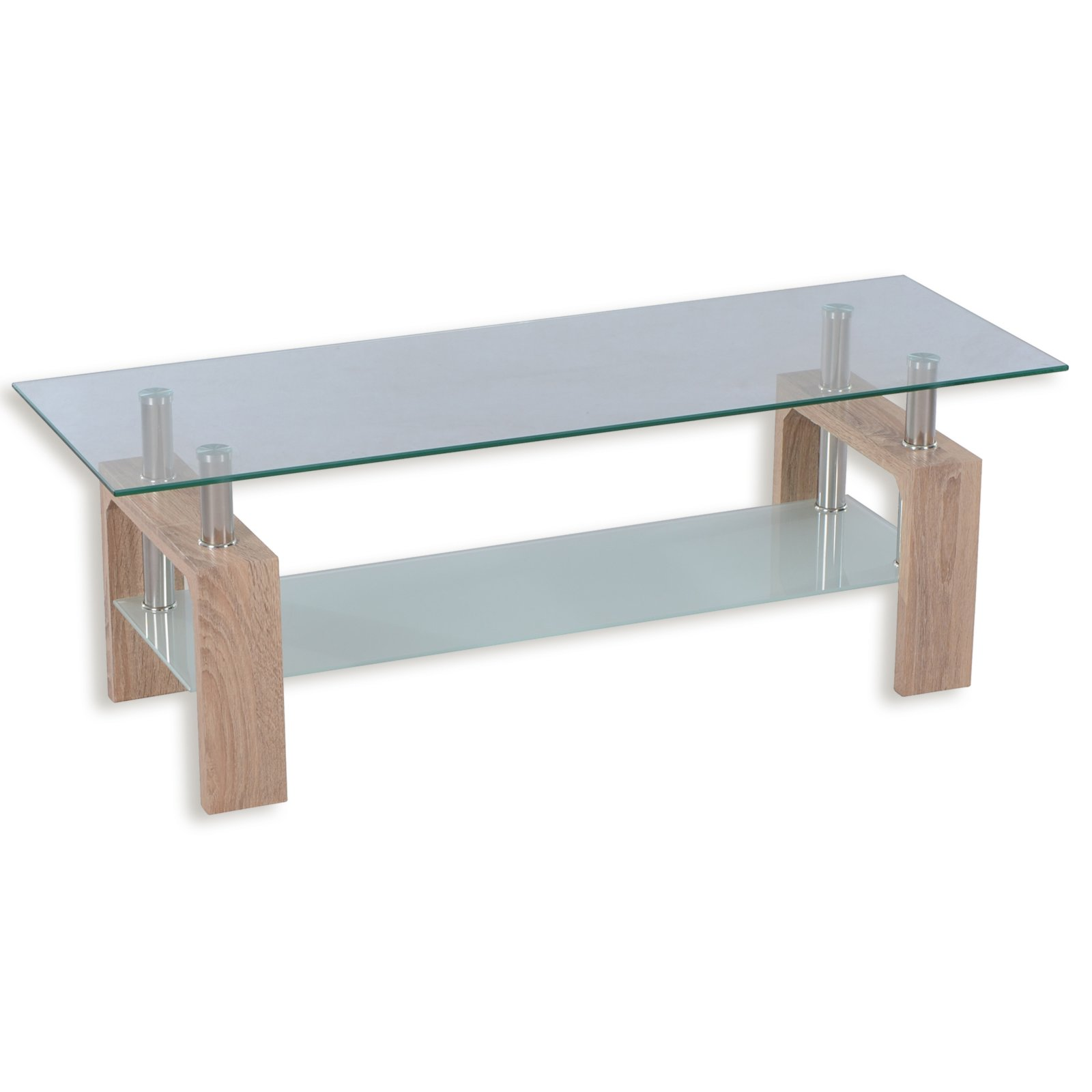 tv lowboard emma sonoma eiche glas 120 cm tv. Black Bedroom Furniture Sets. Home Design Ideas