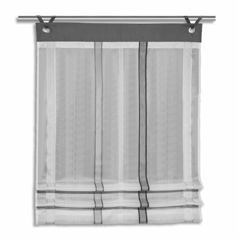 clips rollo fabian stein 80x140 cm transparente raffrollos raffrollos rollos. Black Bedroom Furniture Sets. Home Design Ideas
