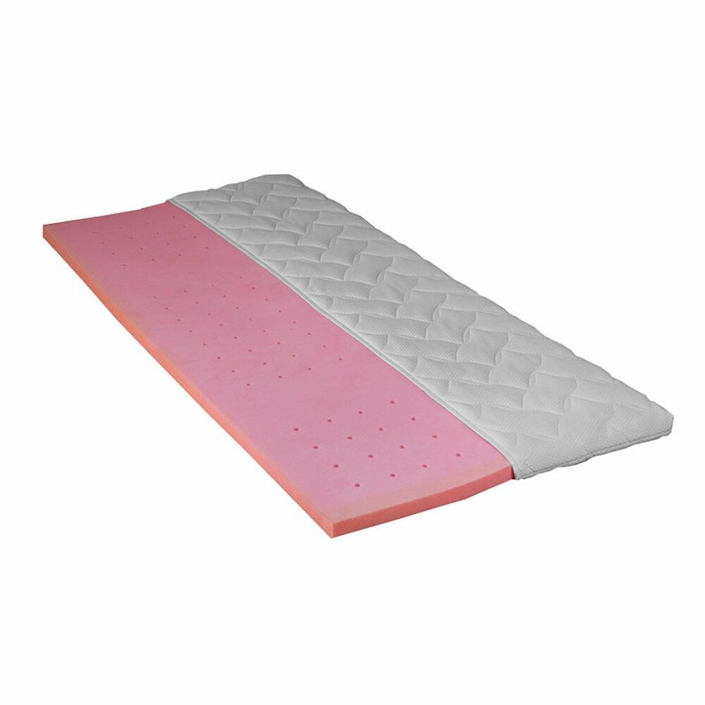 topper gel gelschaumkern 90x200 cm topper matratzen lattenroste m bel roller m belhaus. Black Bedroom Furniture Sets. Home Design Ideas