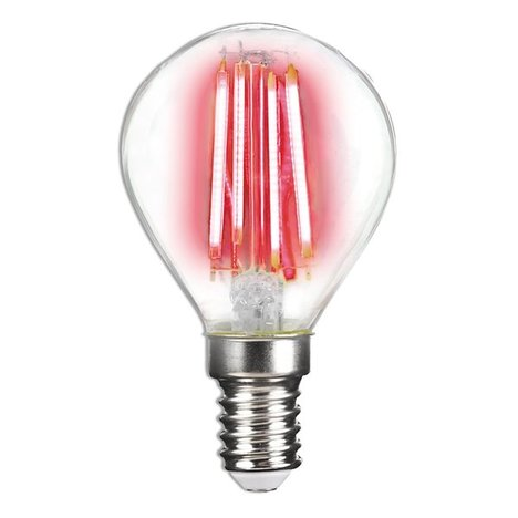 LED-Leuchtmittel LIGHTME - rot - E14 - 4 Watt