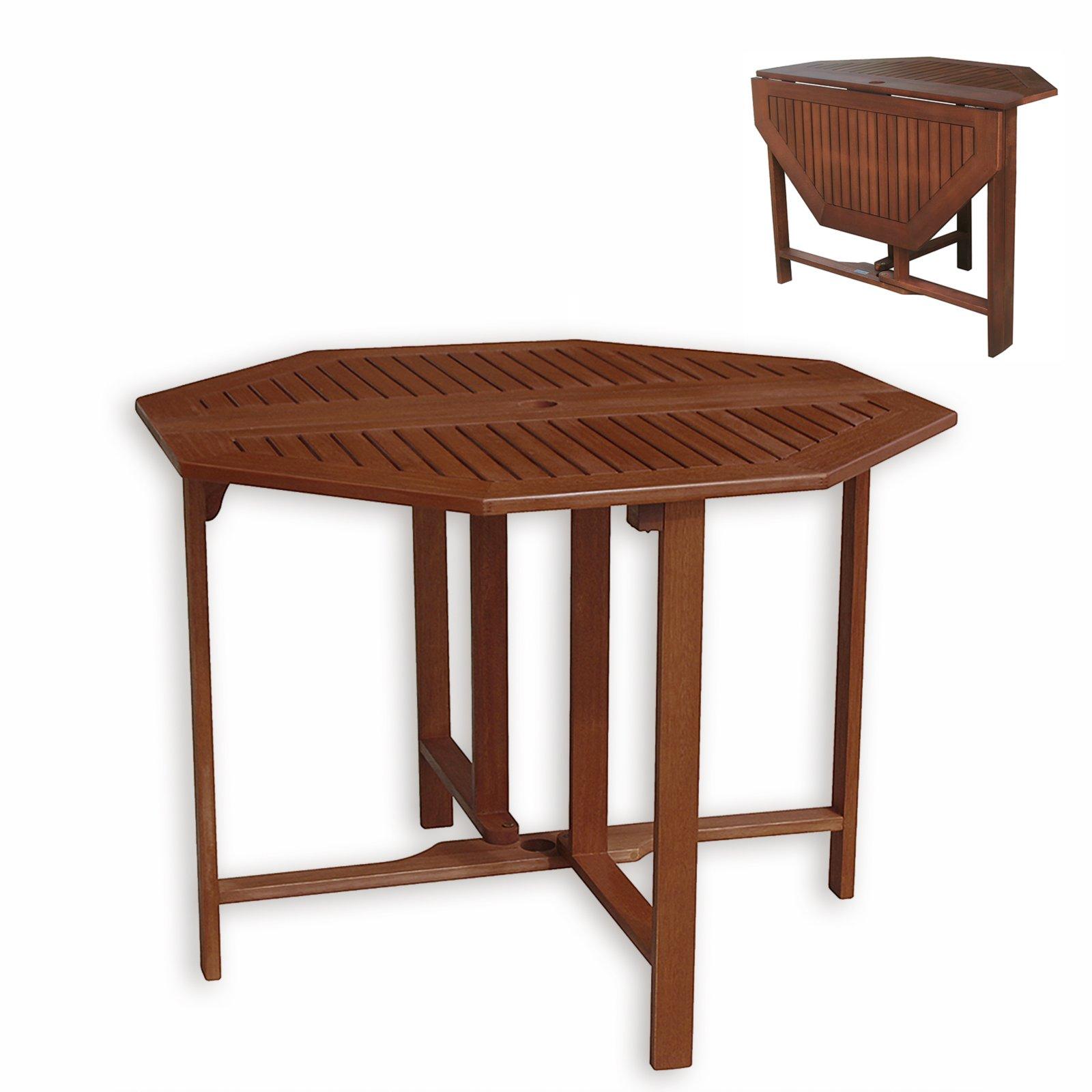 balkontisch evora eukalyptus ge lt klappbar gartentische gartenm bel garten balkon. Black Bedroom Furniture Sets. Home Design Ideas