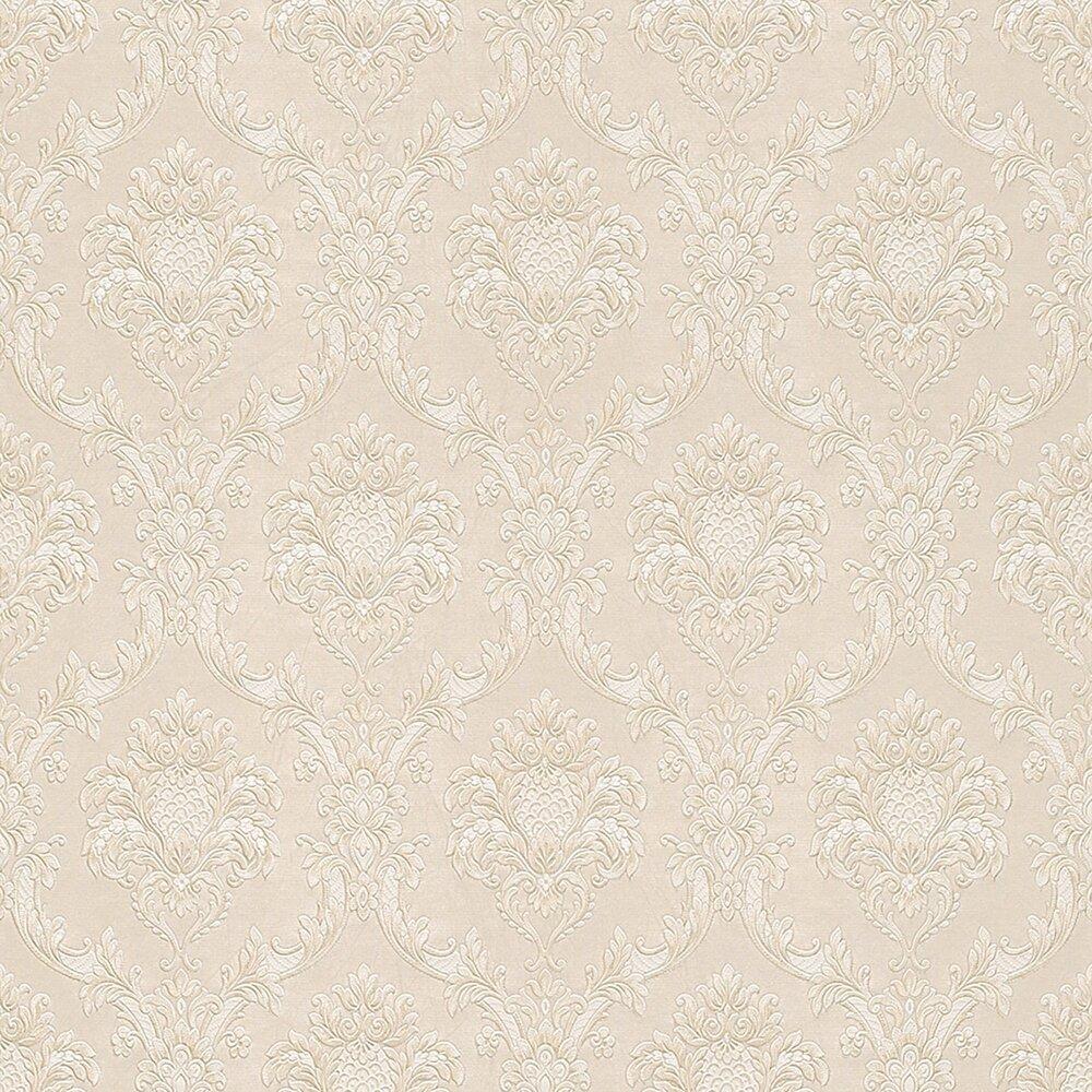Tapete papier beige 10 meter papiertapeten for Tapeten roller