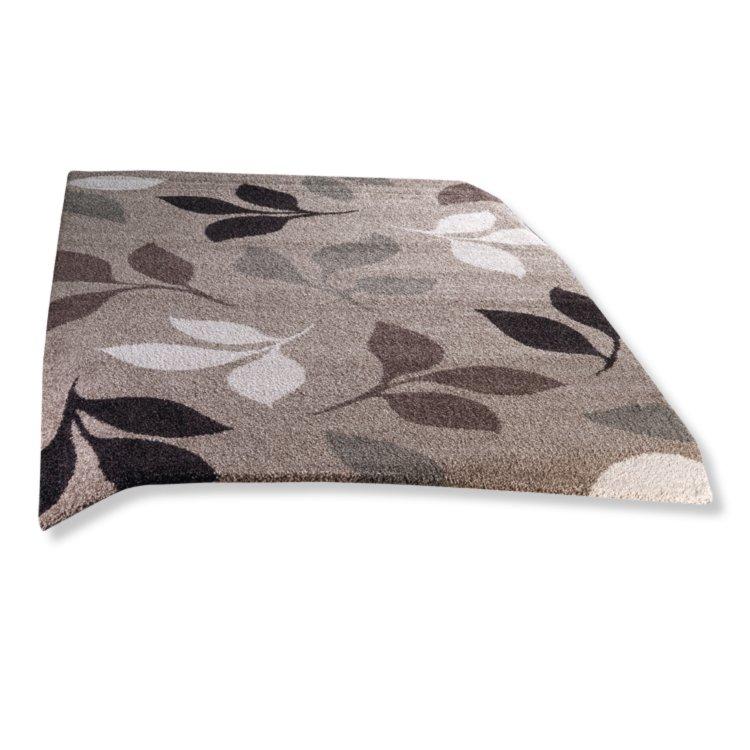 Teppich 160x230  Frisee-Teppich CASA - beige - 160x230 cm | Gemusterte Teppiche ...