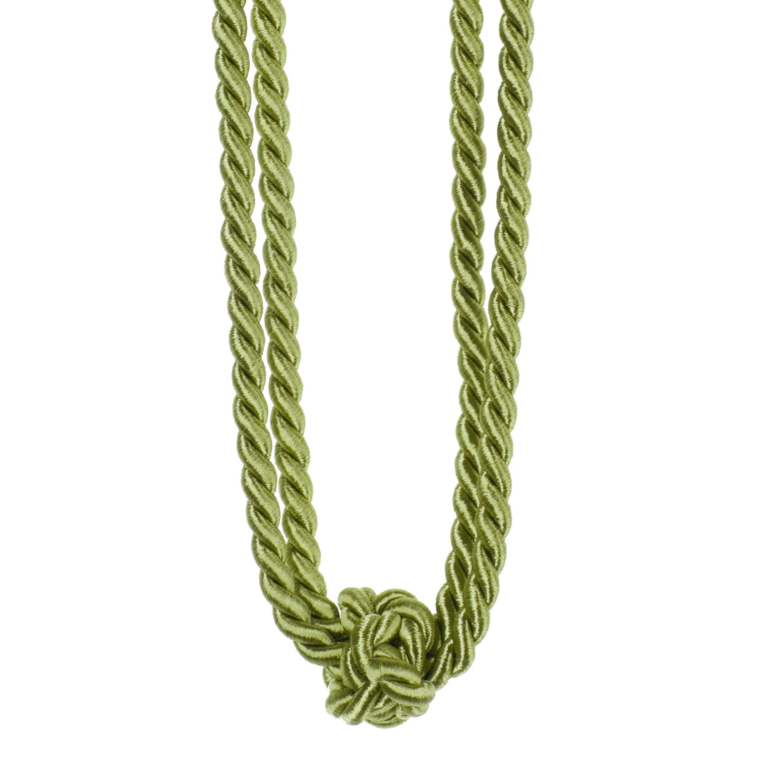 Raffhalter LUISA - mint - Zierknoten - 60 cm