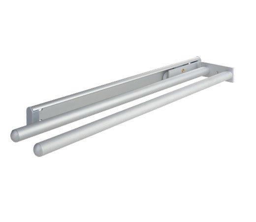 Handtuchhalter - Aluminium - 2-armig