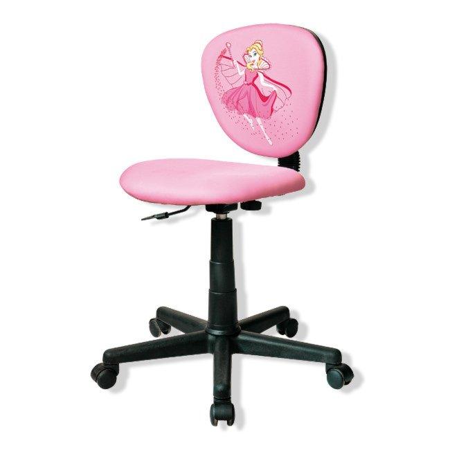Kinder Schreibtischstuhl Princess Rosa Hohenverstellung