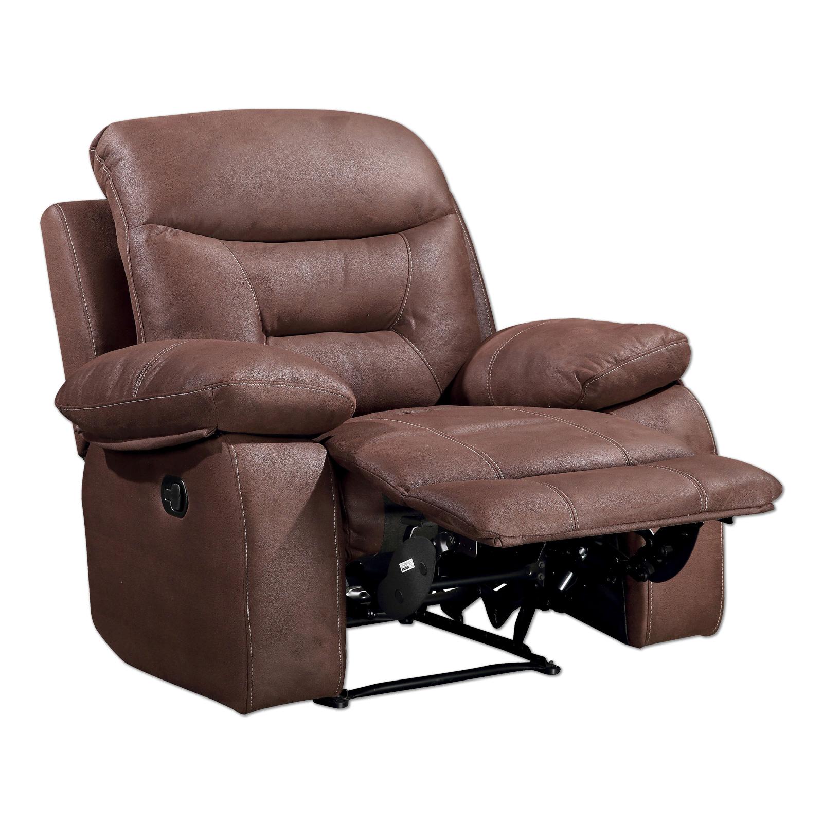 Sessel dunkelbraun mit Relaxfunktion