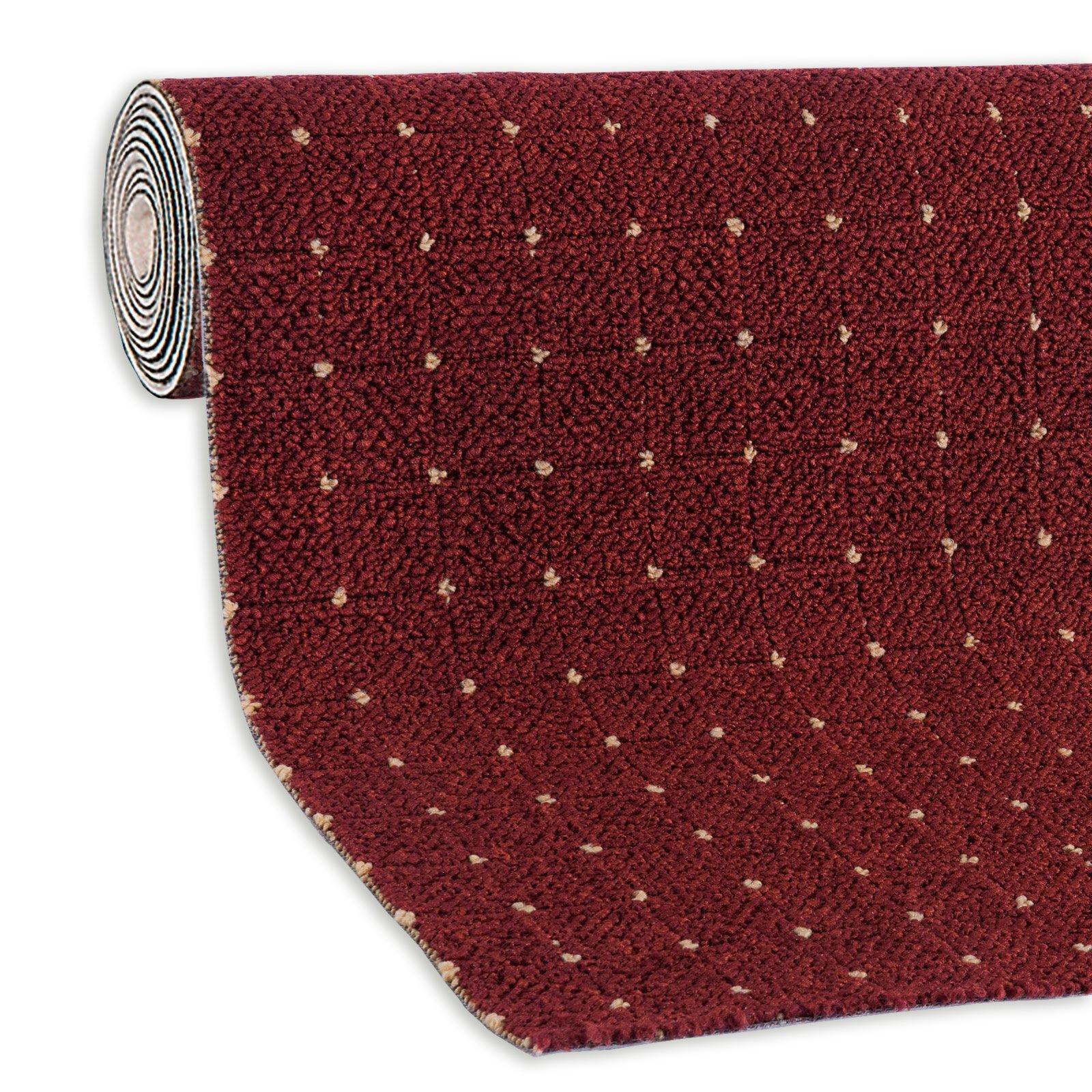 Bodenbeläge Aachen teppichboden aachen rot 5 meter breit teppichboden