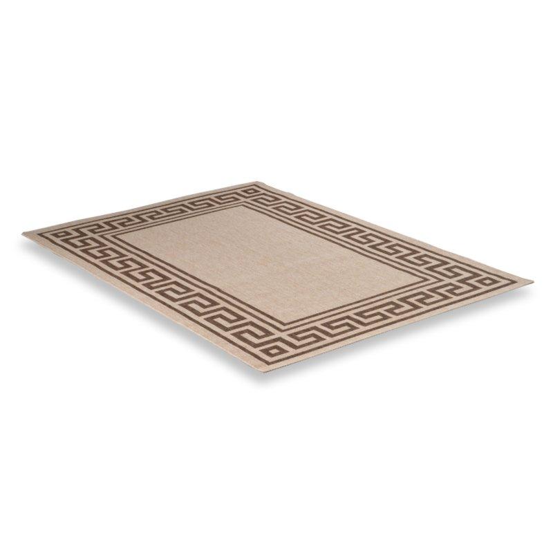 roller teppich oslo beige braun 160x230 cm ebay. Black Bedroom Furniture Sets. Home Design Ideas