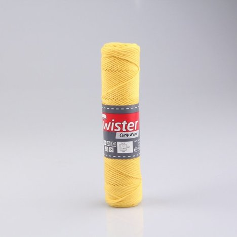 Wolle TWISTER CURLY UNI - sonne - 50g