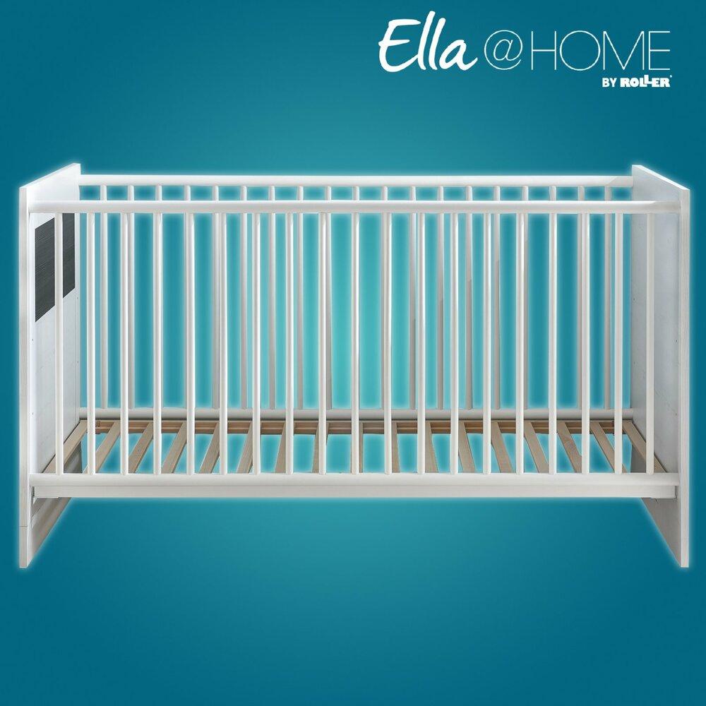 babybett montreal pinie wei wenge 70x140 cm. Black Bedroom Furniture Sets. Home Design Ideas