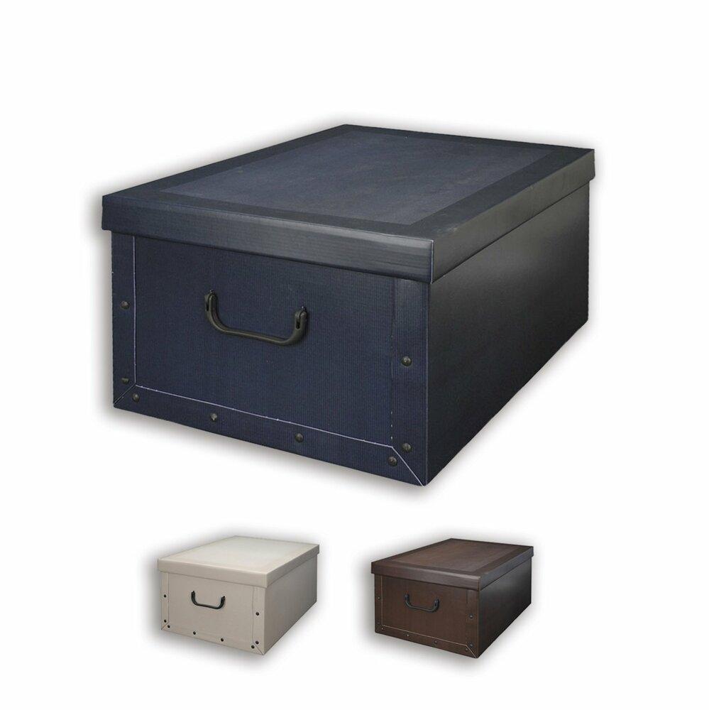 aufbewahrungsbox mit kunststoffgriffen keine farbauswahl dekorative boxen k rbe boxen. Black Bedroom Furniture Sets. Home Design Ideas