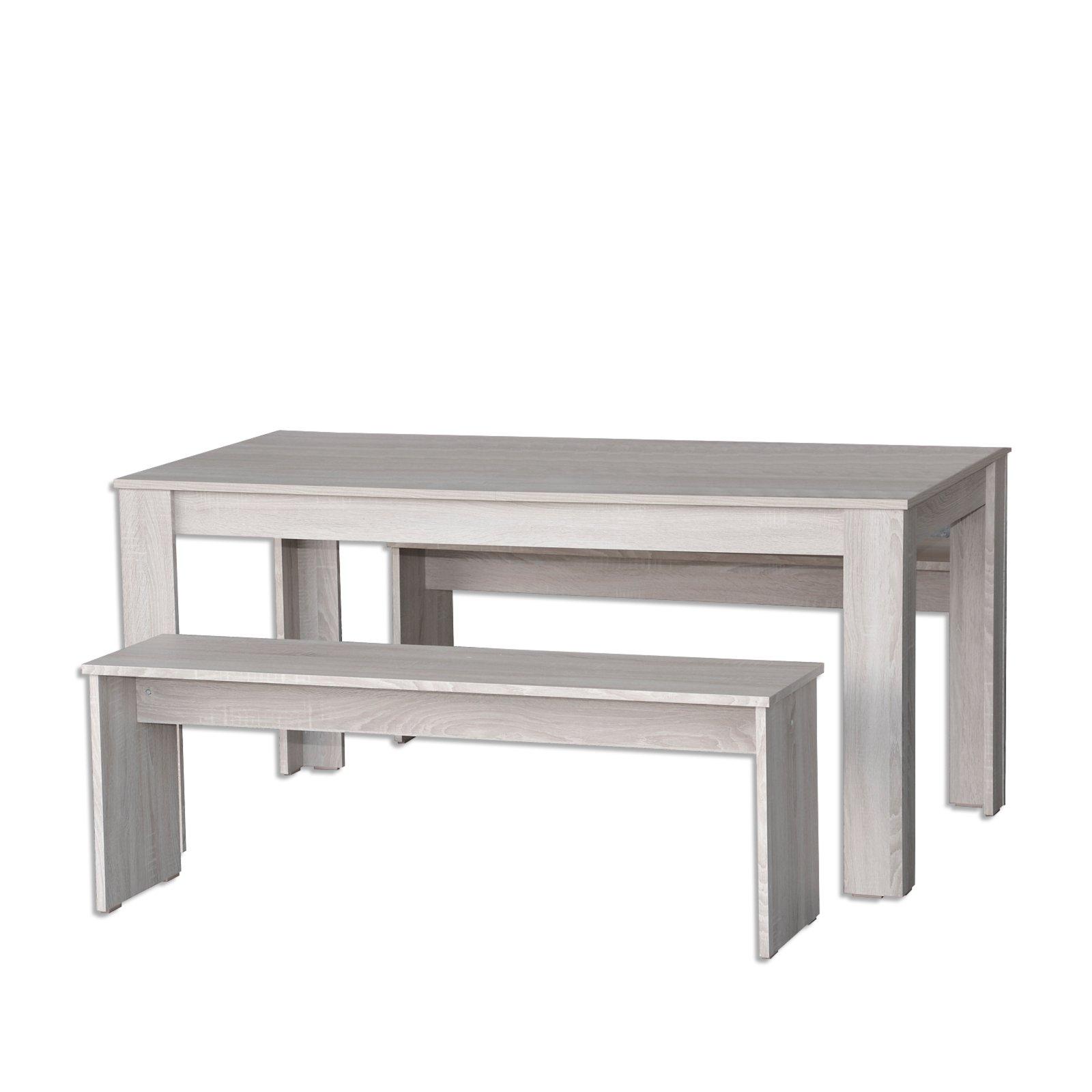 tischgruppe jazz sandeiche 3 teilig sitzb nke. Black Bedroom Furniture Sets. Home Design Ideas