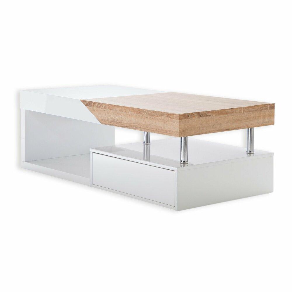 couchtisch hope wei sonoma s gerau 120 cm breit. Black Bedroom Furniture Sets. Home Design Ideas