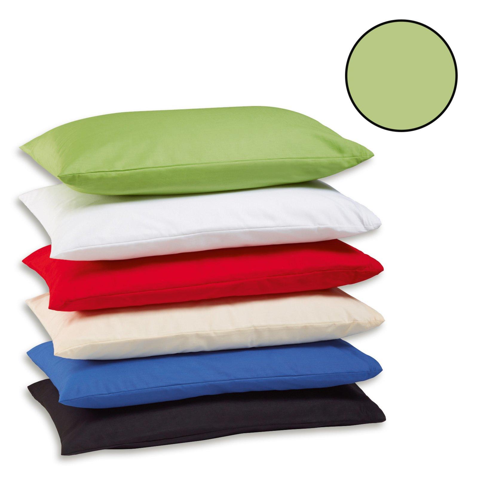 2er pack kissenbezug exclusiv gr n 40x40 cm bettw sche bettw sche bettlaken. Black Bedroom Furniture Sets. Home Design Ideas