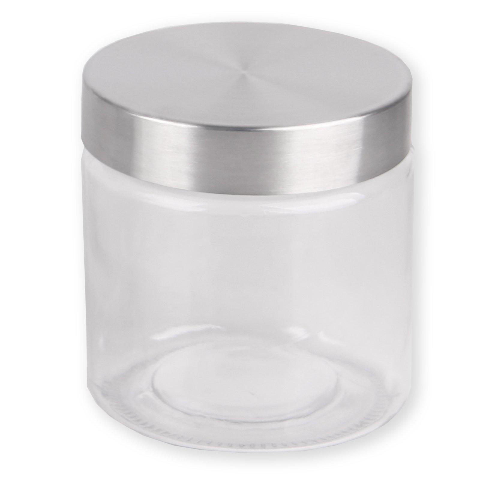 Vorratsglas - mit Edelstahldeckel - 830 ml