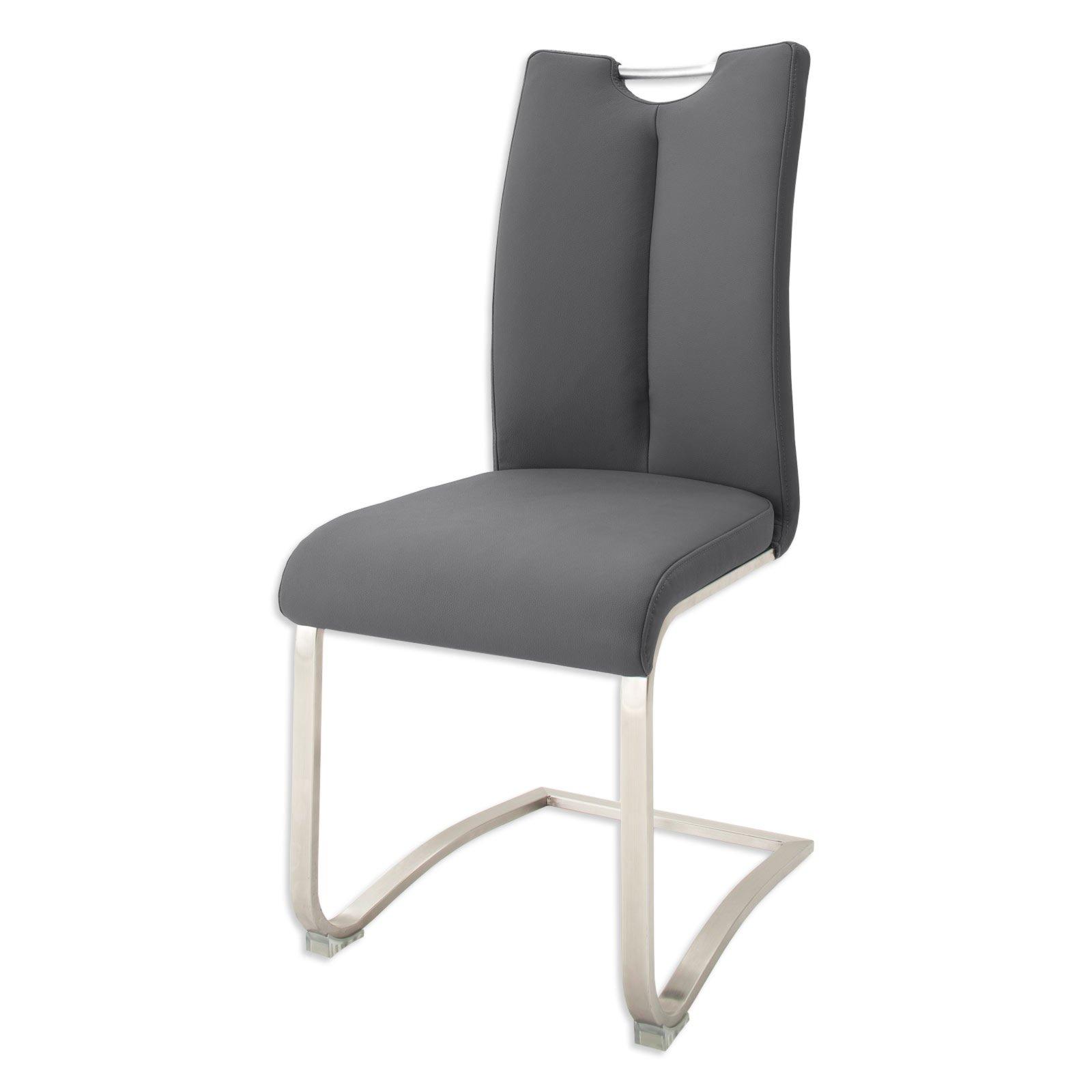 schwinger artos i xl grau freischwinger st hle. Black Bedroom Furniture Sets. Home Design Ideas