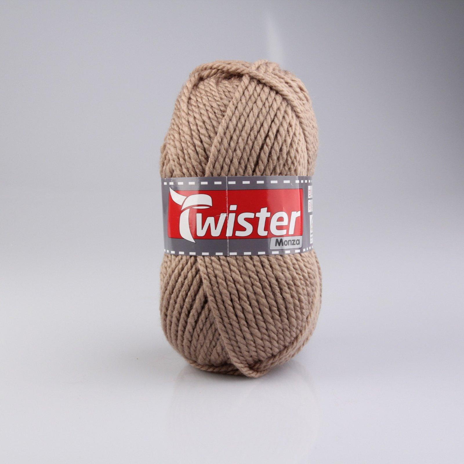 Wolle TWISTER MONZA - beige - 200g
