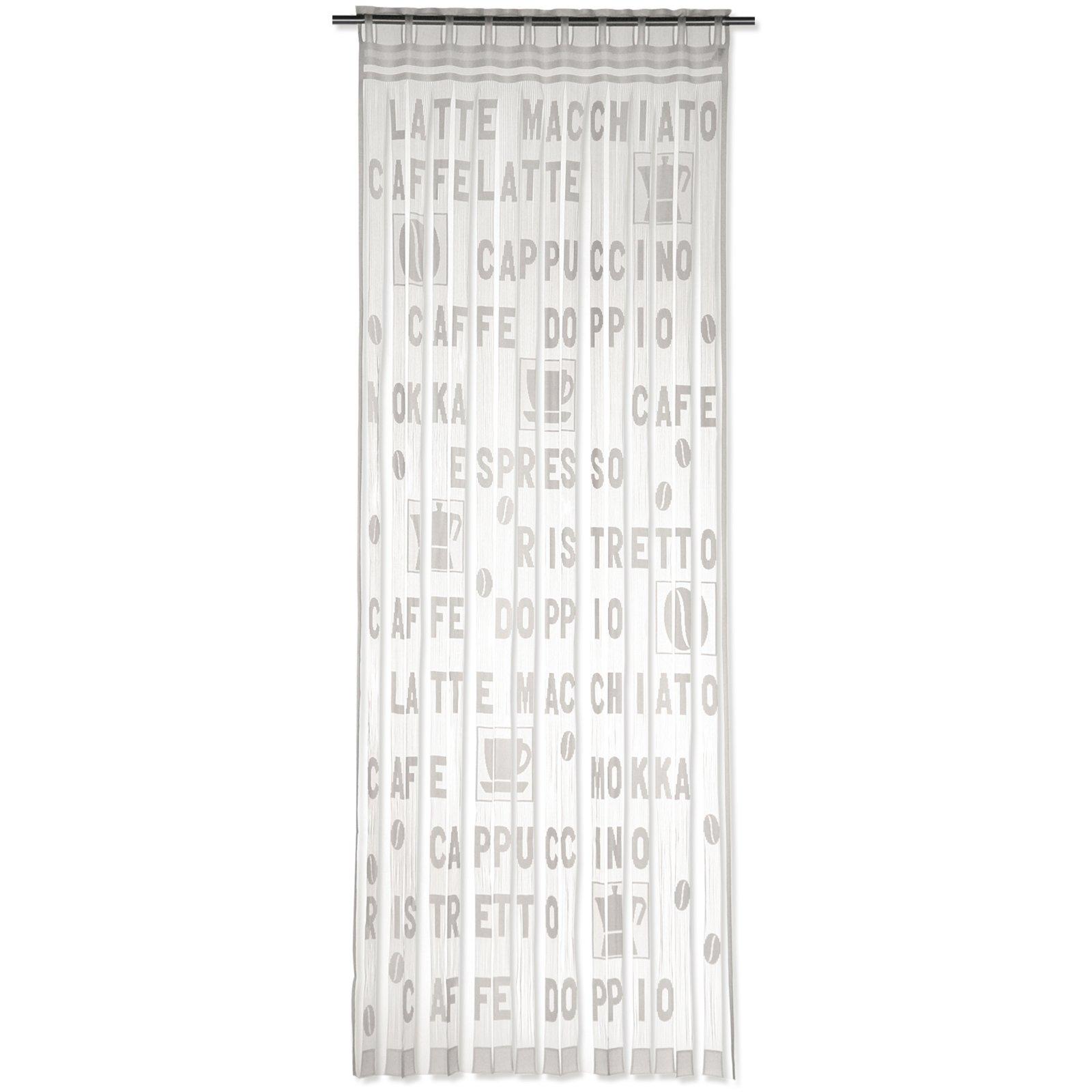 Fadenvorhang ESPRESSO - beige - 95x225 cm