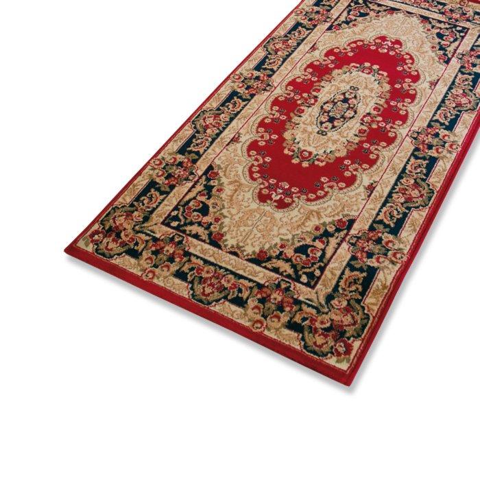 teppich delhi rot 160x230 cm orient teppiche teppiche l ufer deko haushalt. Black Bedroom Furniture Sets. Home Design Ideas