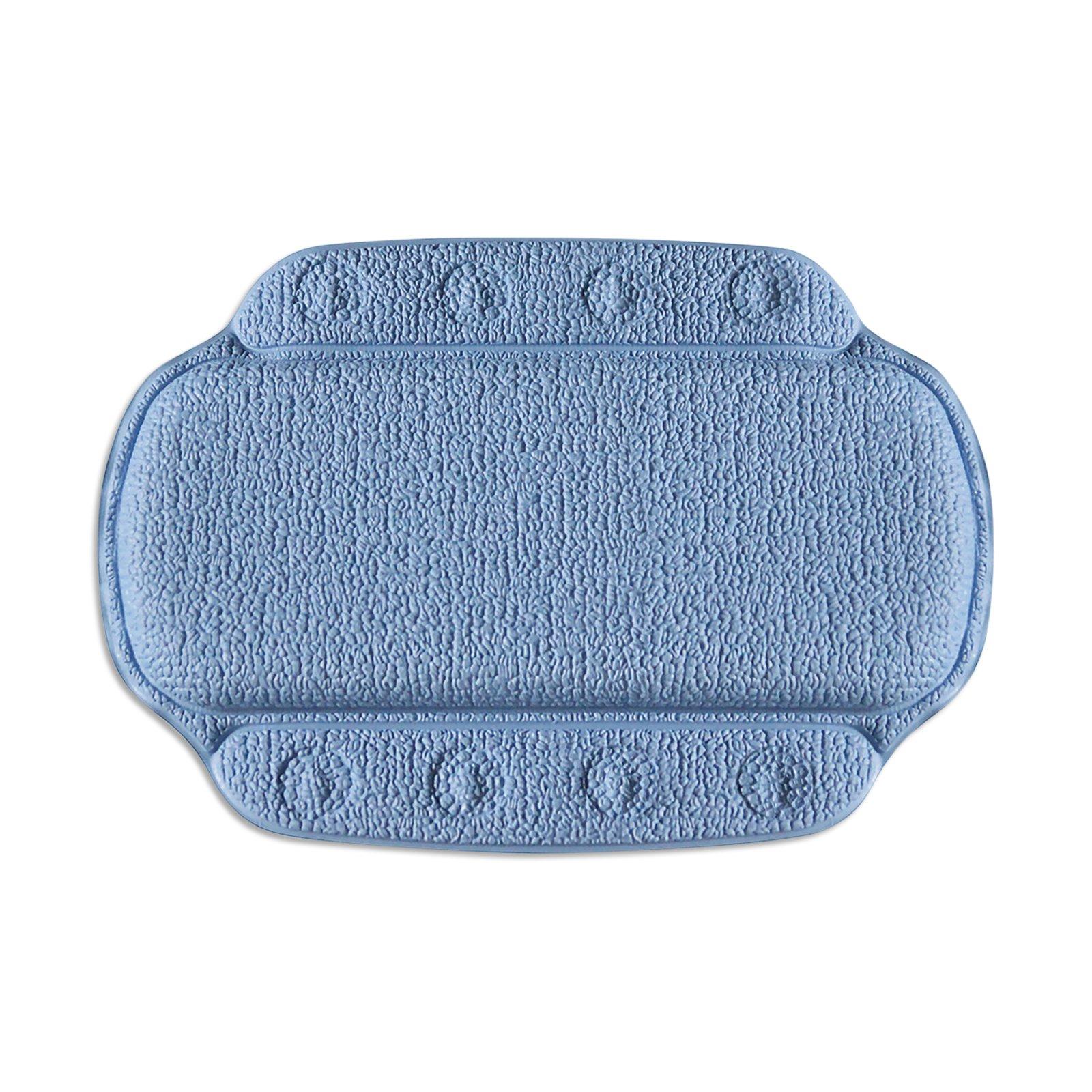 Badewannen-Nackenkissen - blau - 32x23 cm