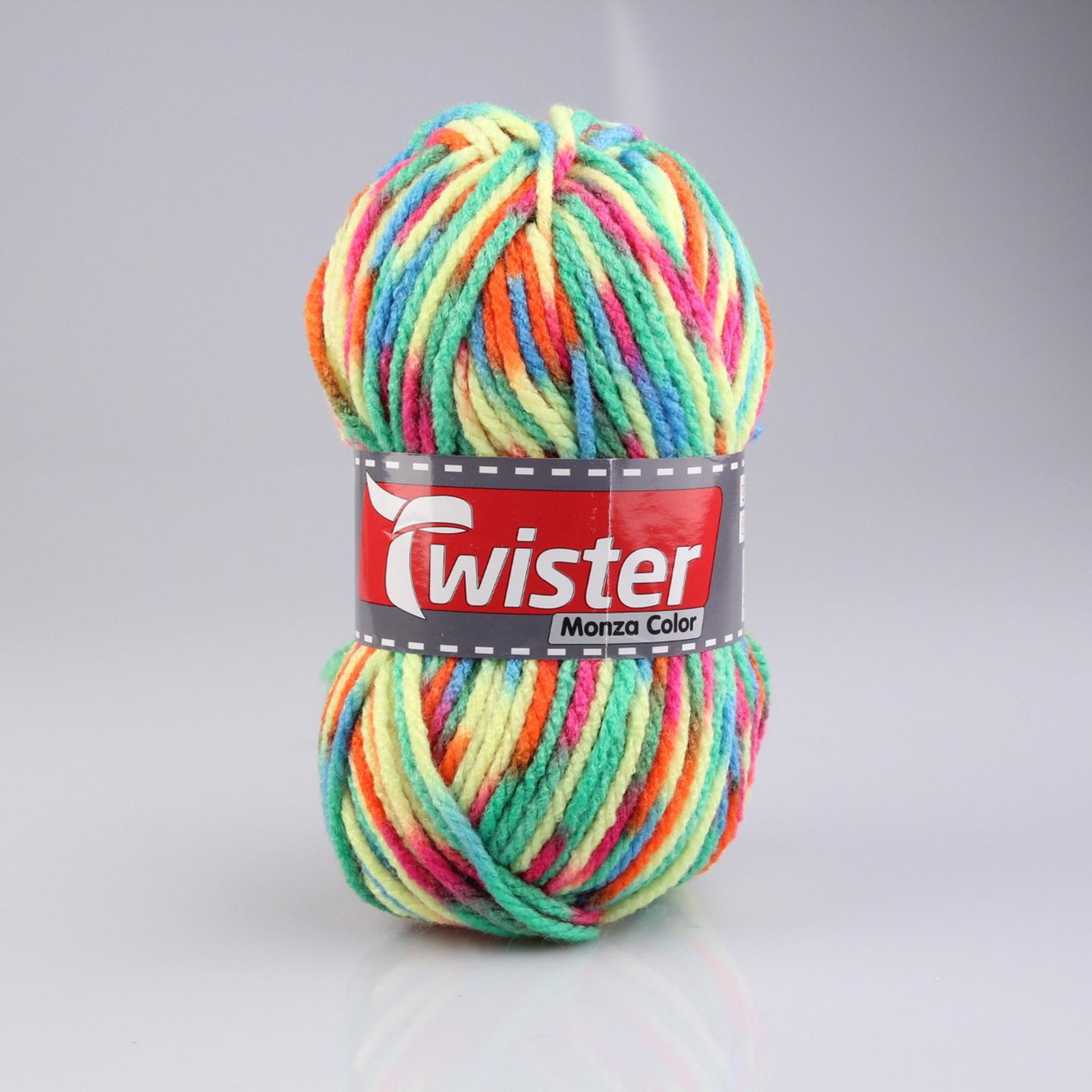ROLLER Wolle Twister Monza 200g wei/ß