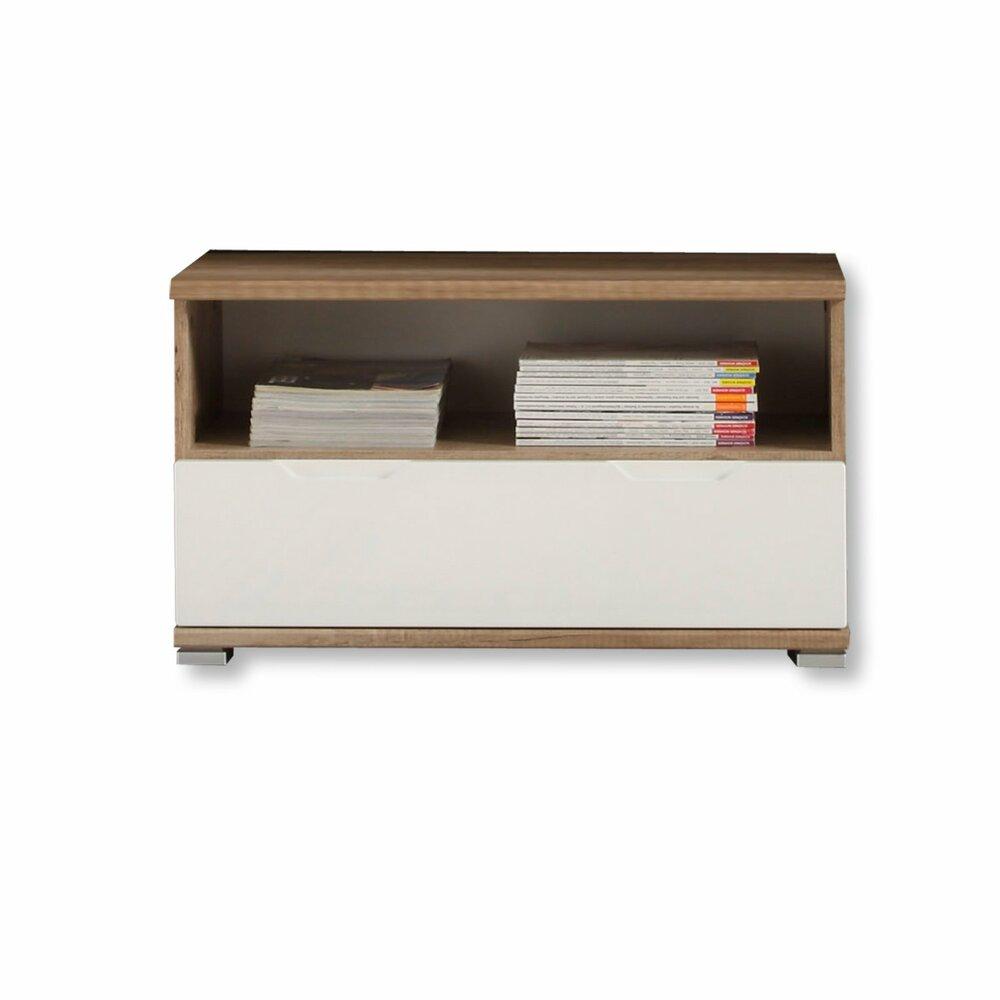 schuhbank roy eiche antik wei hochglanz garderobe roy garderobenprogramme flur. Black Bedroom Furniture Sets. Home Design Ideas