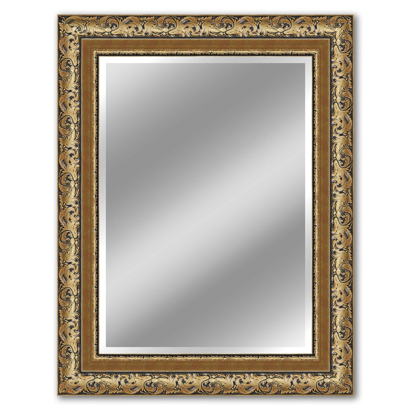 spiegel lille gold 70x90 cm wandspiegel spiegel