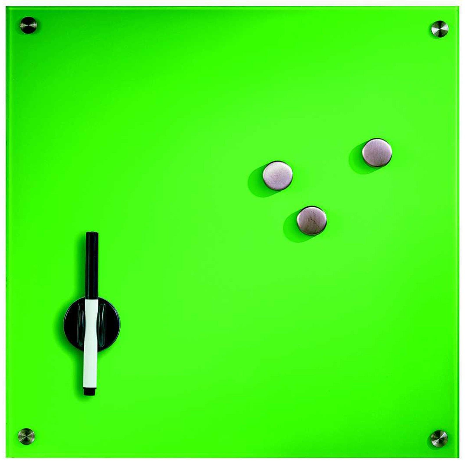 Magnettafel - grün - Glas - beschreibbar | Pinnwände & Tafeln | Deko | Wohnaccessoires ...
