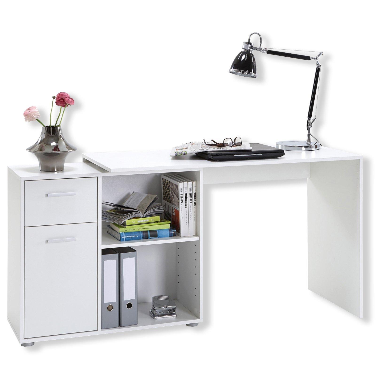 schreibtisch albrecht wei variabel stellbar schreibtische m bel m belhaus roller. Black Bedroom Furniture Sets. Home Design Ideas