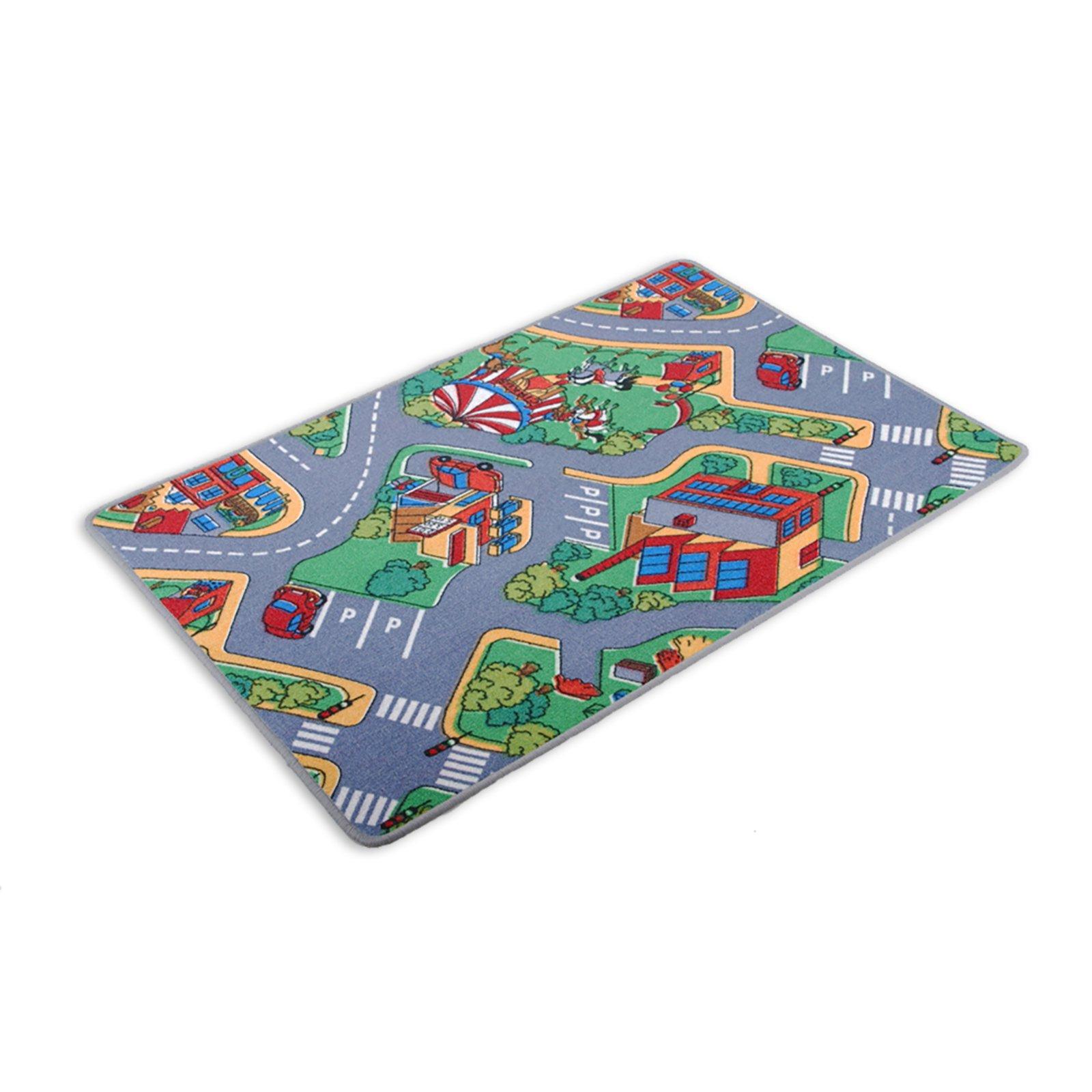 Kinder-Spielteppich AUTOBAHN - 80x120 cm