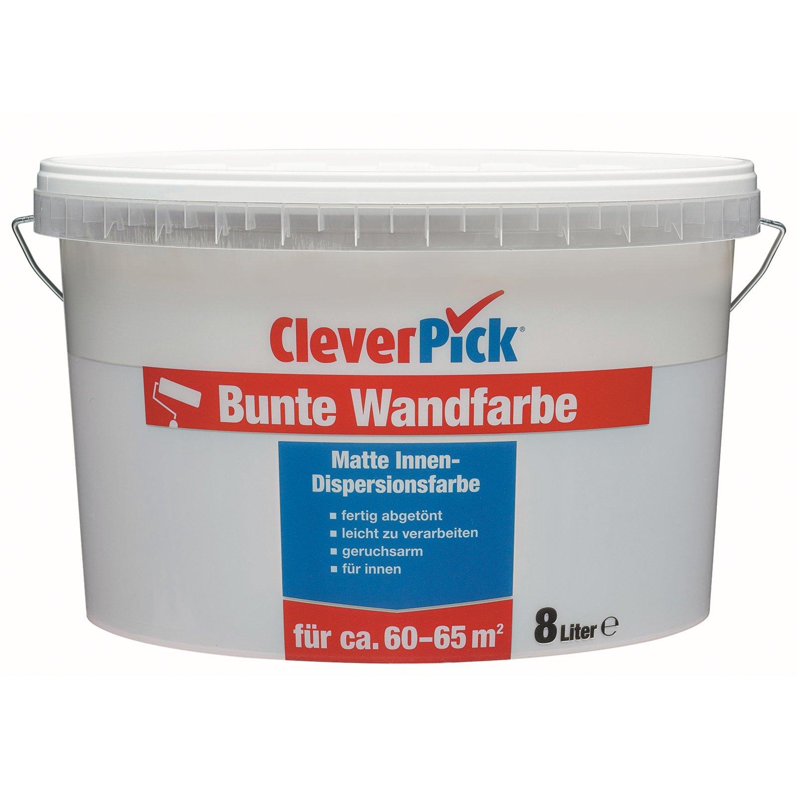 cleverpick bunte wandfarbe fels 8 liter wandfarben. Black Bedroom Furniture Sets. Home Design Ideas