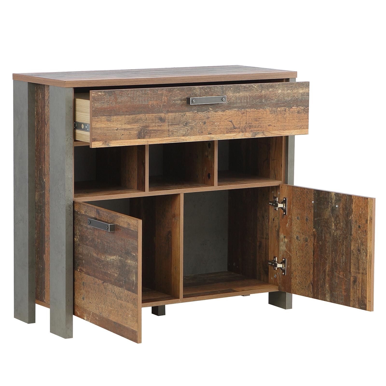 Kommode Old Wood Vintage 2 Turen 107 Cm Breit Online Bei Roller Kaufen