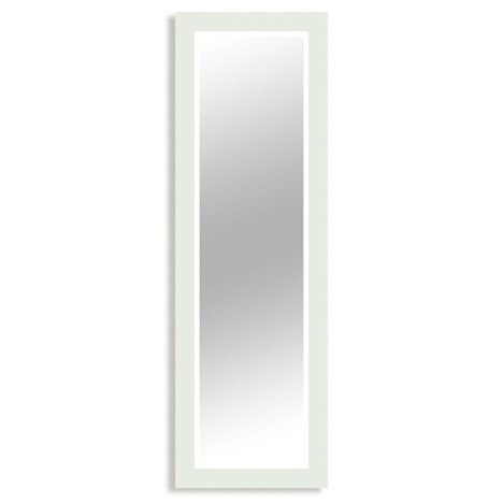 wandspiegel paris wei hochglanz 47x147 cm wandspiegel spiegel deko haushalt. Black Bedroom Furniture Sets. Home Design Ideas